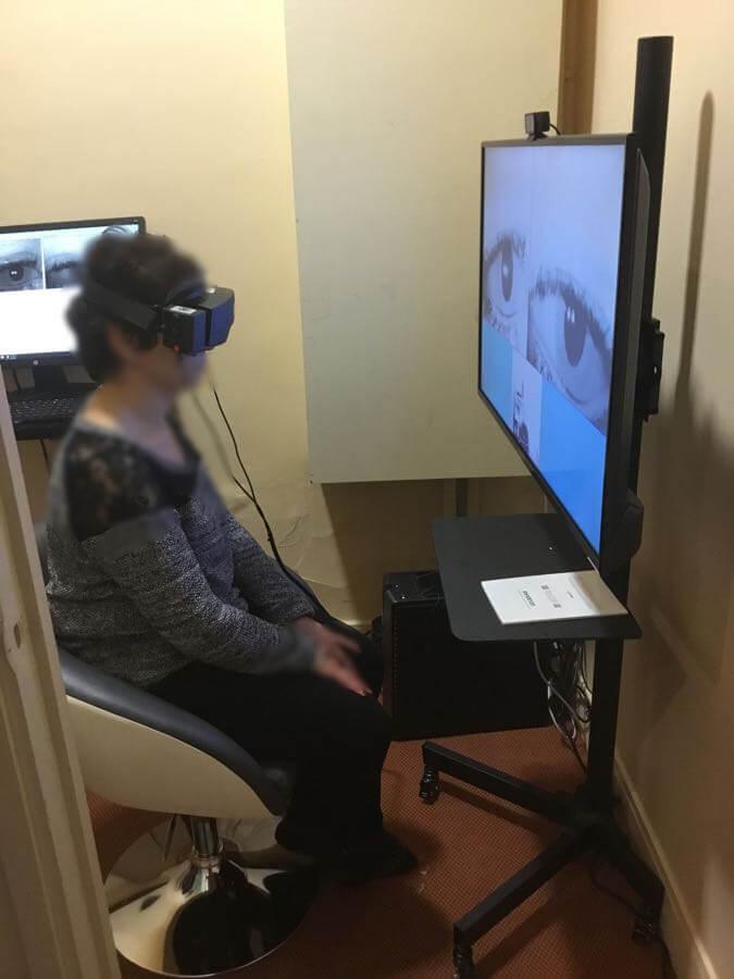 Test oculomoteurs pour commotion cérébrale