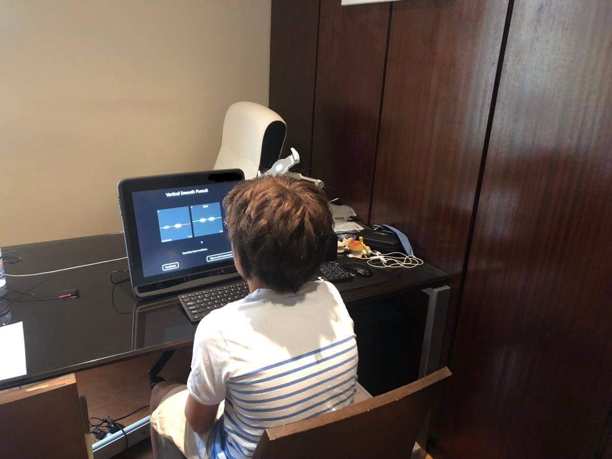 eye-tracking pour détecter commotion cérébrale et traumatisme crânien léger